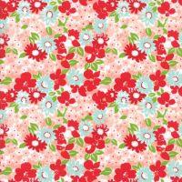 Moda Fabrics ~ The Good Life ~ Flowergarden Coral