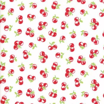 Moda Fabrics ~ The Good Life ~ Orchard Red on Cream