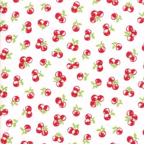 Moda Fabrics ~ The Good Life ~ Orchard Red on Cream