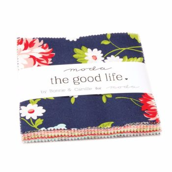 Moda Pre-cuts ~ Charm Pack ~ The Good Life