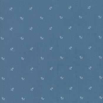 Moda Fabrics ~ Ann's Arbor ~ Buds Medium Blue