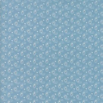 Moda Fabrics ~ Ann's Arbor ~ Little Paisley Light Blue