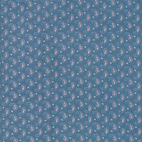 Moda Fabrics ~ Ann's Arbor ~ Little Paisley Medium Blue