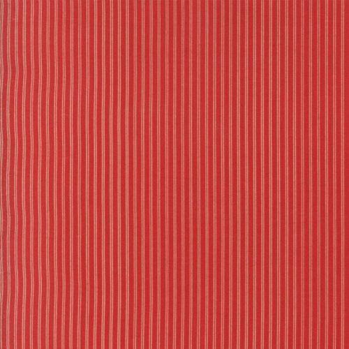 Moda Fabrics ~ Ann's Arbor ~ Pinstripe Red