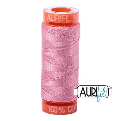 Aurifil ~ 50 wt Cotton ~ 2430 ~ Antique Rose Small Spool