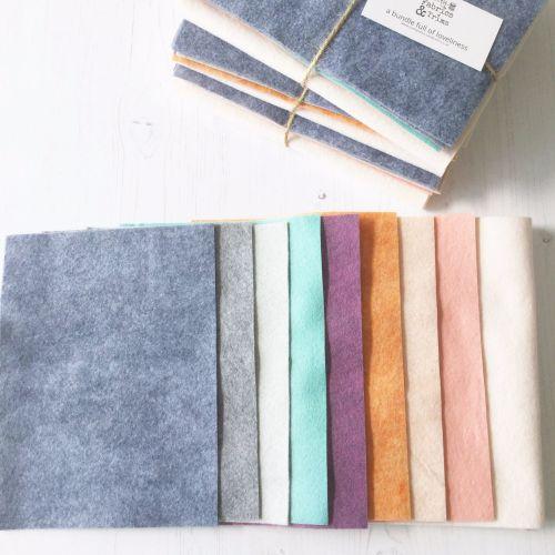 Sarah Selects ~ WoolFelt® Bundle ~ Little House Pincushion