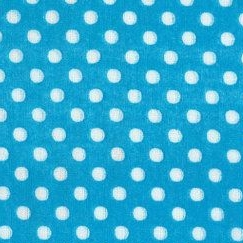 Lecien Fabric ~ Colour Basic ~ Polka Dot Blue