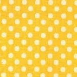 Lecien Fabric ~ Colour Basic ~ Polka Dot Yellow