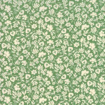 Moda Fabrics ~ Merry Go Round ~ Mono Floral Green