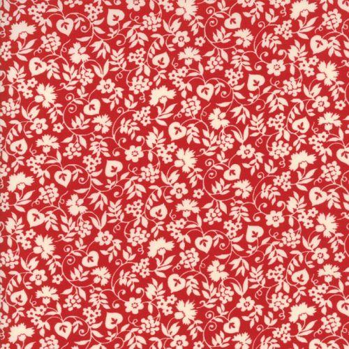 Moda Fabrics ~ Merry Go Round ~ Mono Floral Red