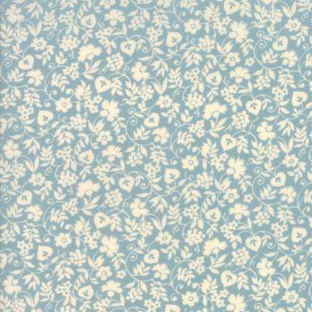 Moda Fabrics ~ Merry Go Round ~ Mono Floral Sky Blue