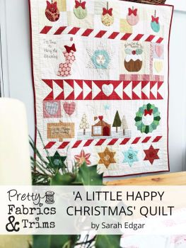 Block of the Month Club Reservation Fee ~ A Little Happy Christmas