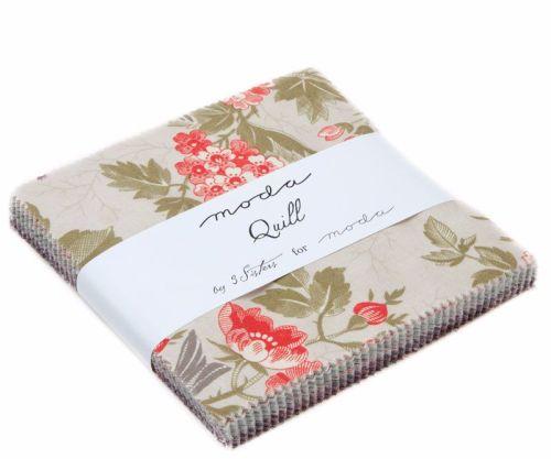 Moda Pre-cuts ~ Charm Pack ~ Quill