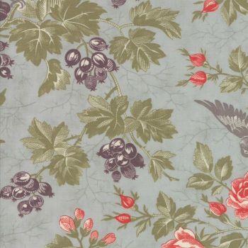 Moda Fabrics ~ Quill ~ Bird Toile Mist