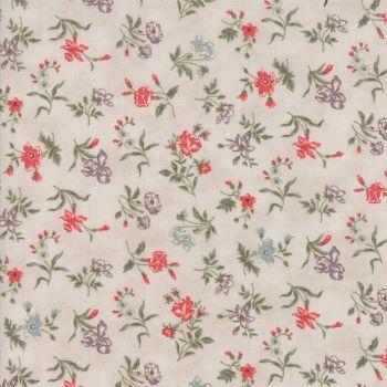 Moda Fabrics ~ Quill ~ Blossoms Parchment