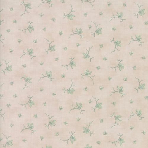 Moda Fabrics ~ Quill ~ Butterflies Parchment Aqua