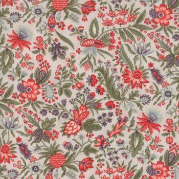 Moda Fabrics ~ Quill ~ Flourish Floral Parchment