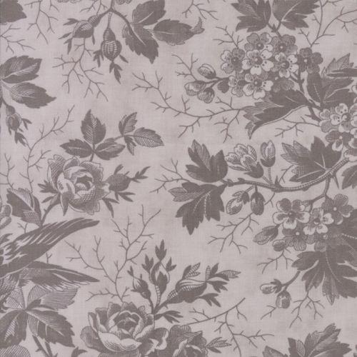 Moda Fabrics ~ Quill ~ Tonal Bird Toile Feather
