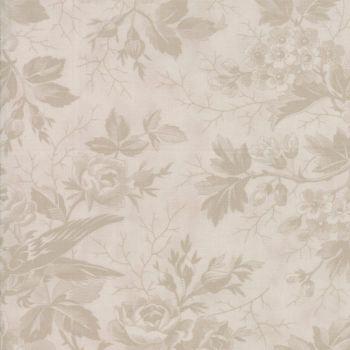 Moda Fabrics ~ Quill ~ Bird Toile Tonal Parchment