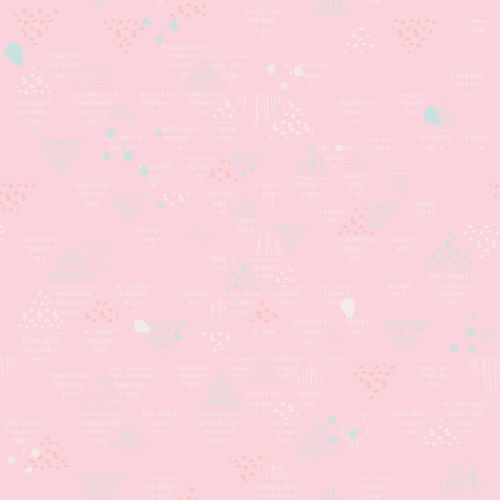 Riley Blake ~ Dear Diary ~ Doodle Pink