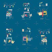 Riley Blake ~ Dear Diary ~ Main Blue
