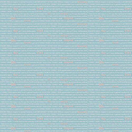 Riley Blake ~ Dear Diary ~ Newspaper Blue