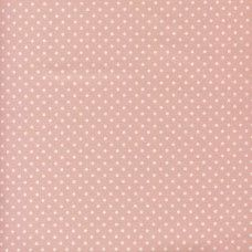 Sevenberry Fabric ~ Polka Dot in Pale Pink