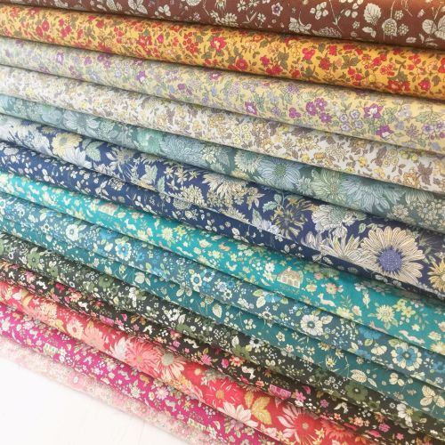 Lecien Fabric ~ Fat Quarter Bundle ~ Memoire A Paris (New Autumn Colours)