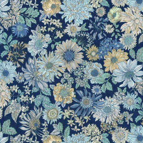 Lecien ~ Memoire A Paris ~ Large Floral Navy