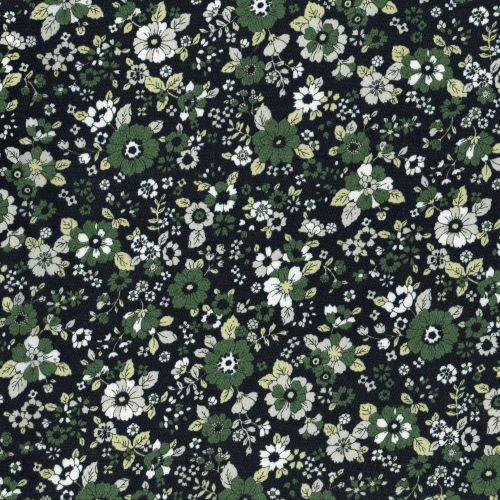 Lecien ~ Memoire A Paris ~ Blossoms Black