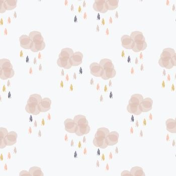 Dashwood Studio Fabric ~ Autumn Rain ~ Clouds