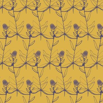Dashwood Studio Fabric ~ Autumn Rain ~ Flowers