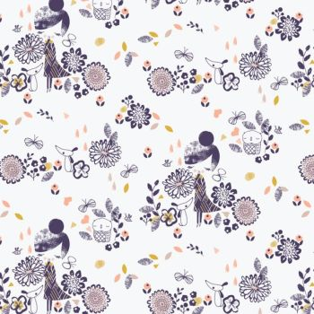 Dashwood Studio Fabric ~ Autumn Rain ~ Girls