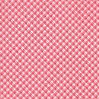 Moda Fabric ~ Fleurs ~ Pinstripe Gingham Cherry
