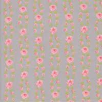 Moda Fabric ~ Fleurs ~ Fleur Stripe Pebble