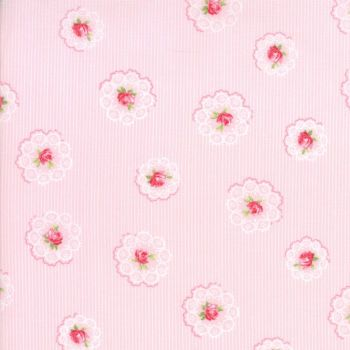 Moda Fabric ~ Caroline ~ Daily Roses Bloom