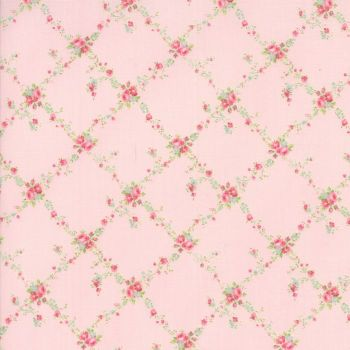 Moda Fabric ~ Caroline ~ Floral Lattice Bloom