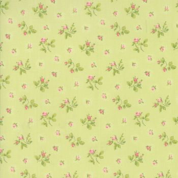 Moda Fabric ~ Caroline ~ Rosebuds Willow