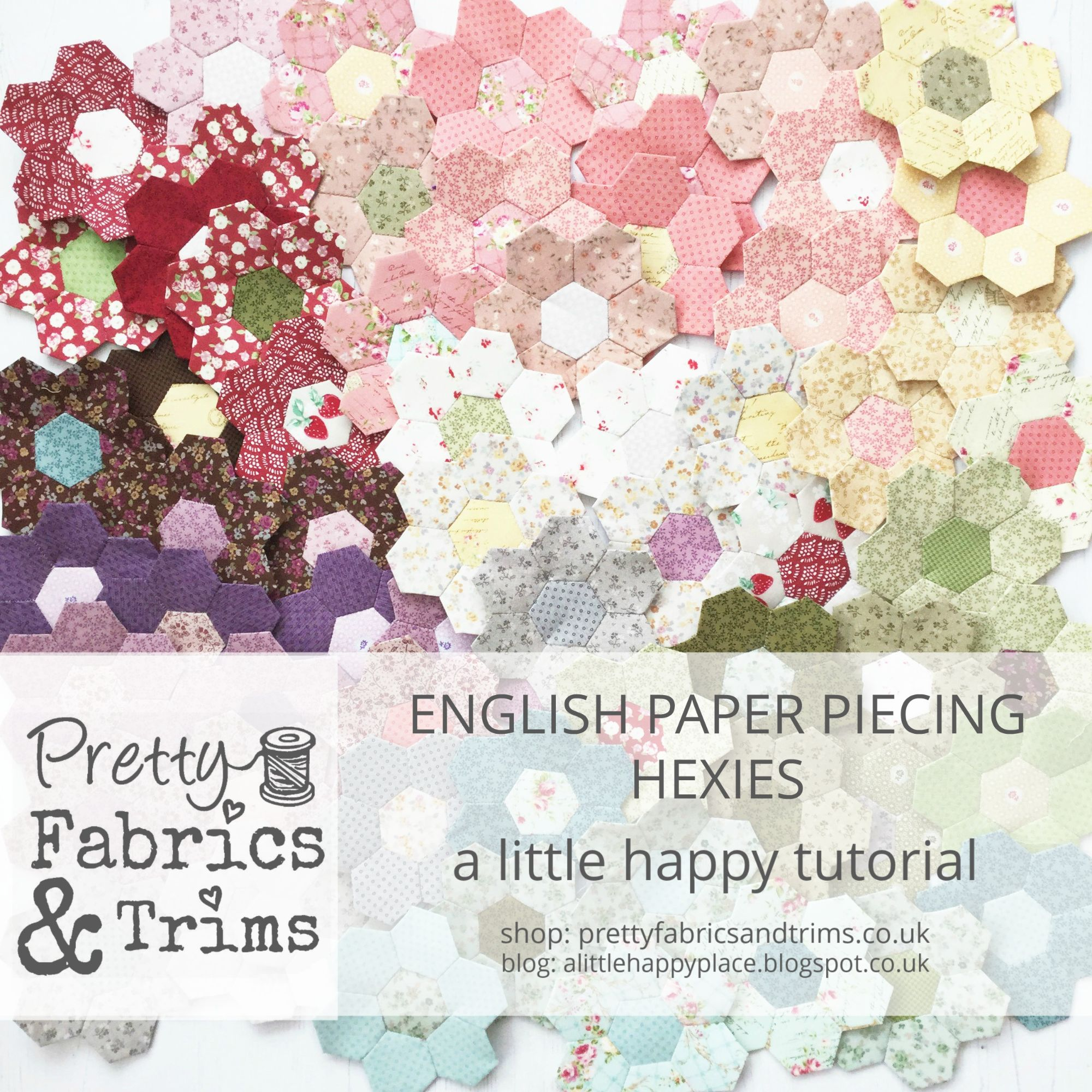How to make English Paper Pieced Hexies