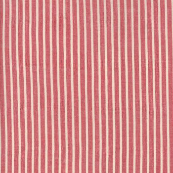 Moda Fabrics ~ Atelier De France Wovens ~ Striped Rouge
