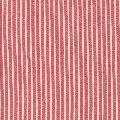 Moda Fabrics ~ Atelier De France Wovens ~ Striped Rouge