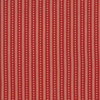Moda Fabrics ~ Atelier De France ~ Albi Rouge