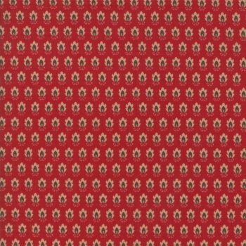 Moda Fabrics ~ Atelier De France ~ Vence Rouge