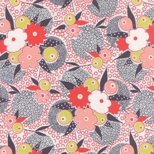 Moda Fabrics ~ Gardenvale ~ Gardenia in Carnevale