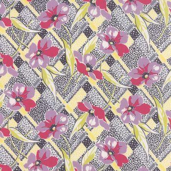Moda Fabrics ~ Gardenvale ~ Lily in Snapdragon