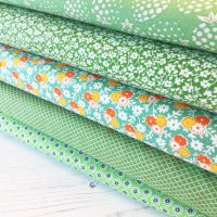 Penny Picks ~ 30's Reproduction Fabric Fat Quarter Bundle ~ Green