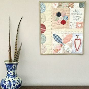 'Make it' Sarah's Happiness Mini Quilt Kit and Pattern