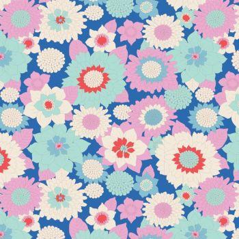 Tilda ~ LemonTree ~ Boogie Flower Blue