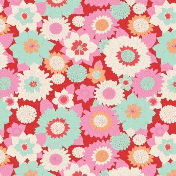 Tilda ~ LemonTree ~ Boogie Flower Red