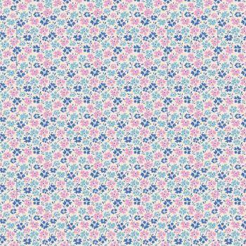 Tilda ~ LemonTree ~ Flower Field Blue